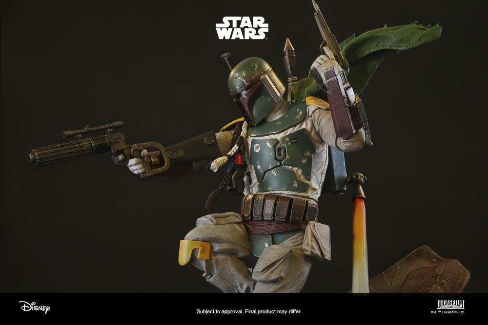 BOBA FETT - Statua in Porcellana Scala 1:4 Altezza 58 cm STAR WARS PREMIUM COLLECTIBLES