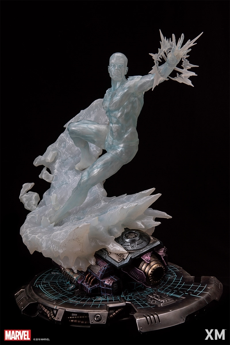 X-MEN - Statua Iceman Scala 1/4 MARVEL PREMIUM COLLECTIBLES 52 cm