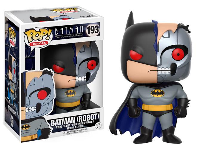 Batman The Animated Series POP! Heroes Figure Robot Batman 9 cm