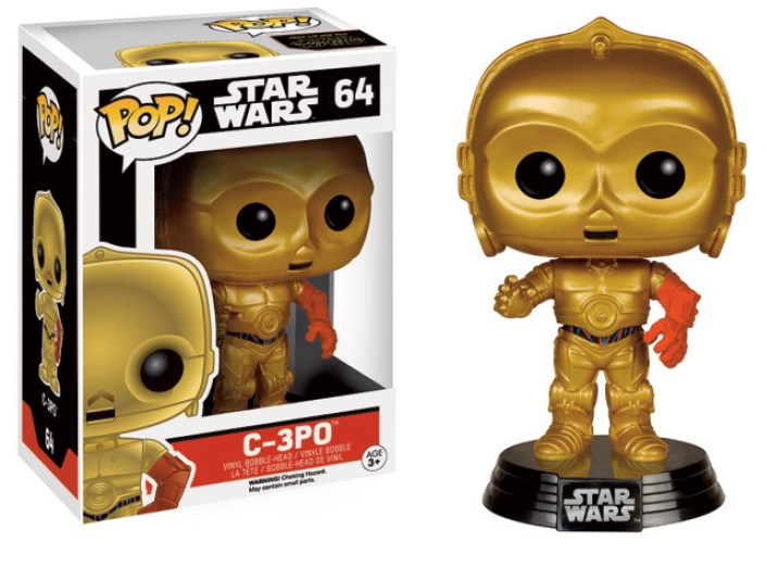 Star Wars EP VII The Force Awakens POP! C-3PO 9 cm