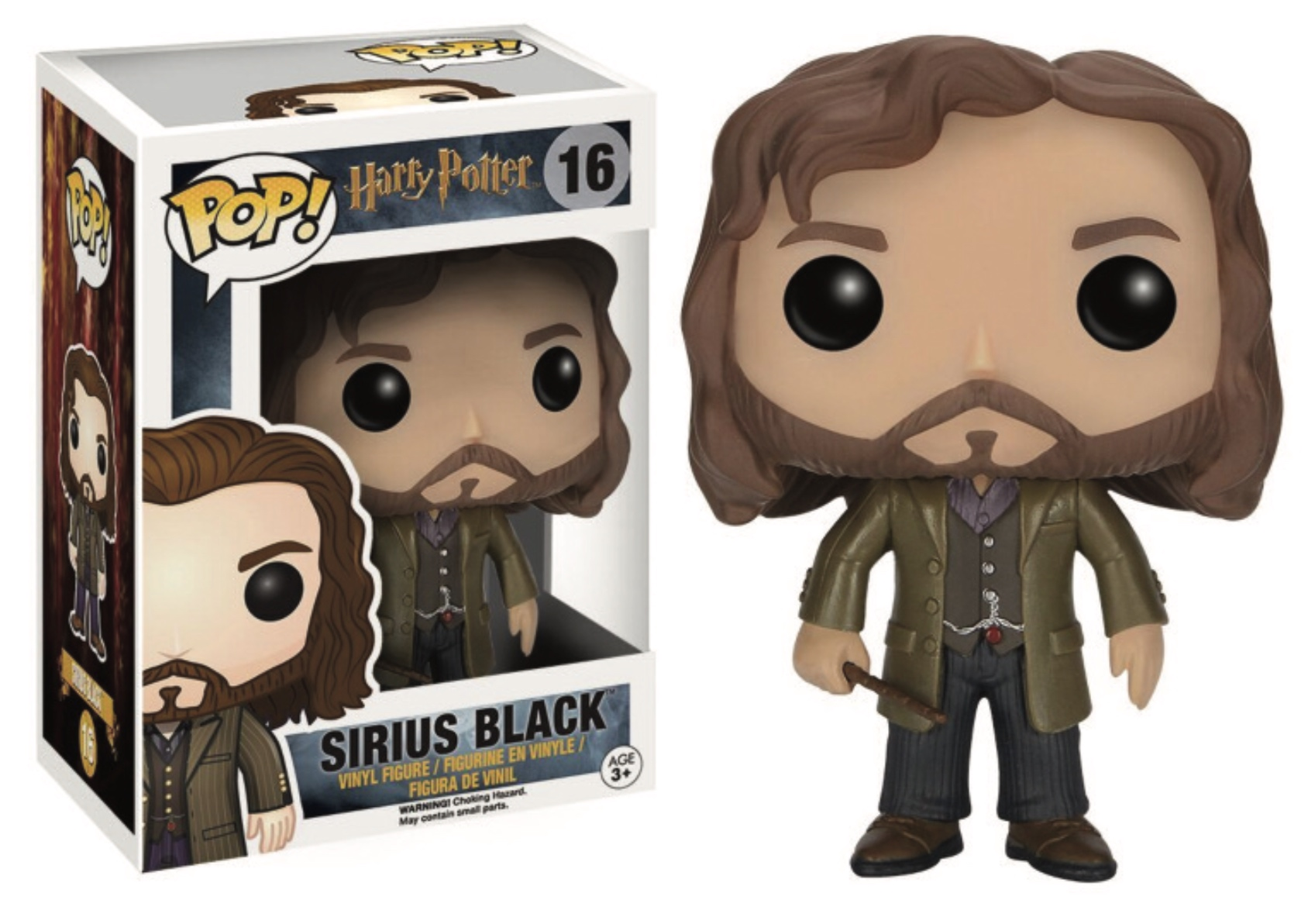 Harry Potter POP! Movies Vinyl Figure Sirius Black 9 cm