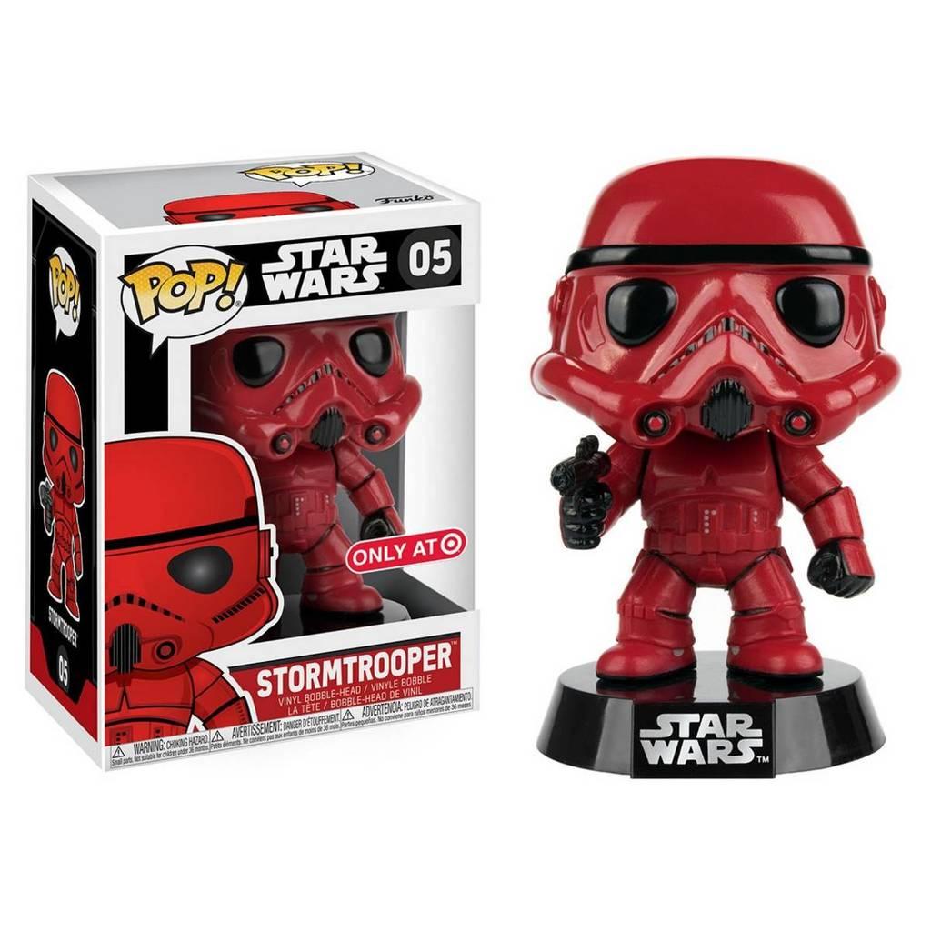 Star Wars POP! Vinyl Bobble-Head Red Stormtrooper 9 cm Exclusive