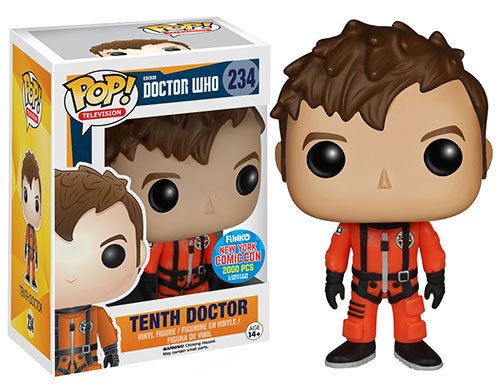 Doctor Who POP! Television Vinyl Figure 10th Doctor Spacesuit Exclusive 9 cm (con bollino New York ComicCon)