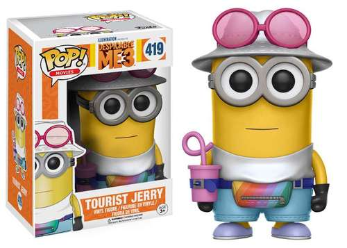 Despicable Me 3 POP! Tourist Jerry 9 cm