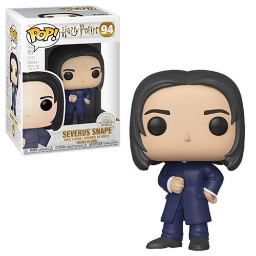 Harry Potter POP! Movies Vinyl Figure Severus Snape (Yule) 9 cm
