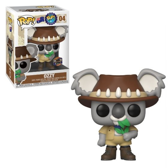 Around the World Ozzy the Koala POP! Vinyl Figure with Collector Pin Australia Limited Edition 9 cm