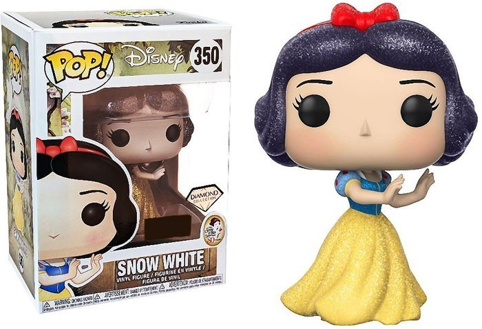 Snow White and The Seven Dwarfs POP! Disney Vinyl Figure Snow White Diamond Glitter 9 cm