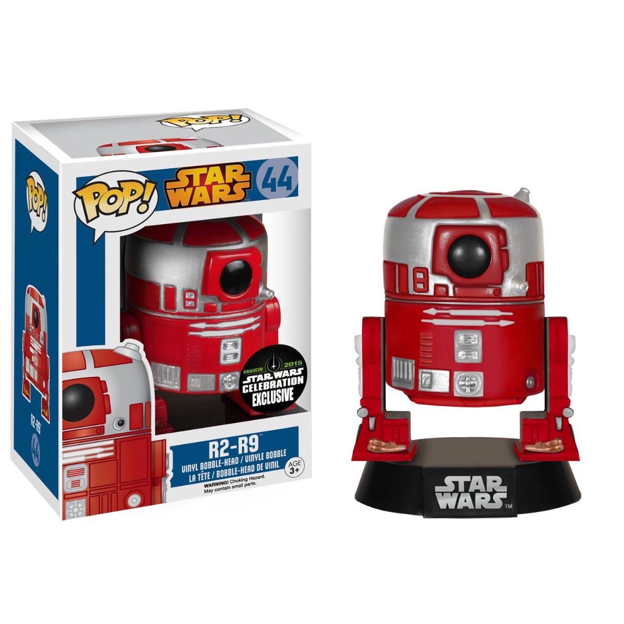 Star Wars POP! Vinyl Action Figure R2-R9 Convention Special 9 cm (con bollino Funko Galactic Convention 2015)