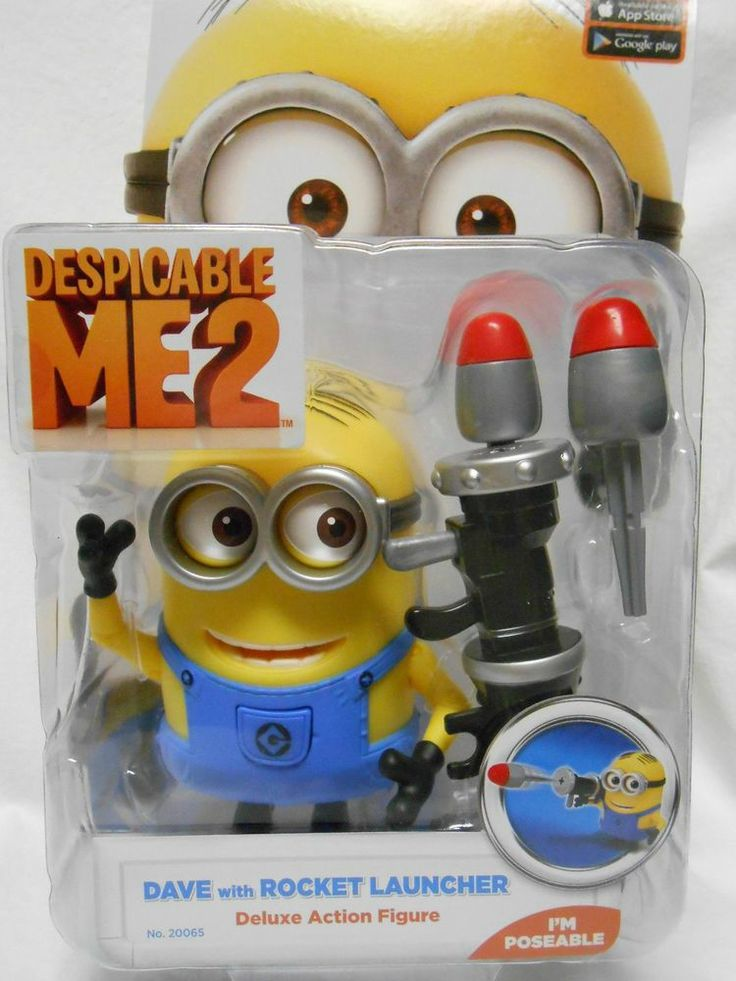 Despicable Me 2 Deluxe Action Figure Minion Dave