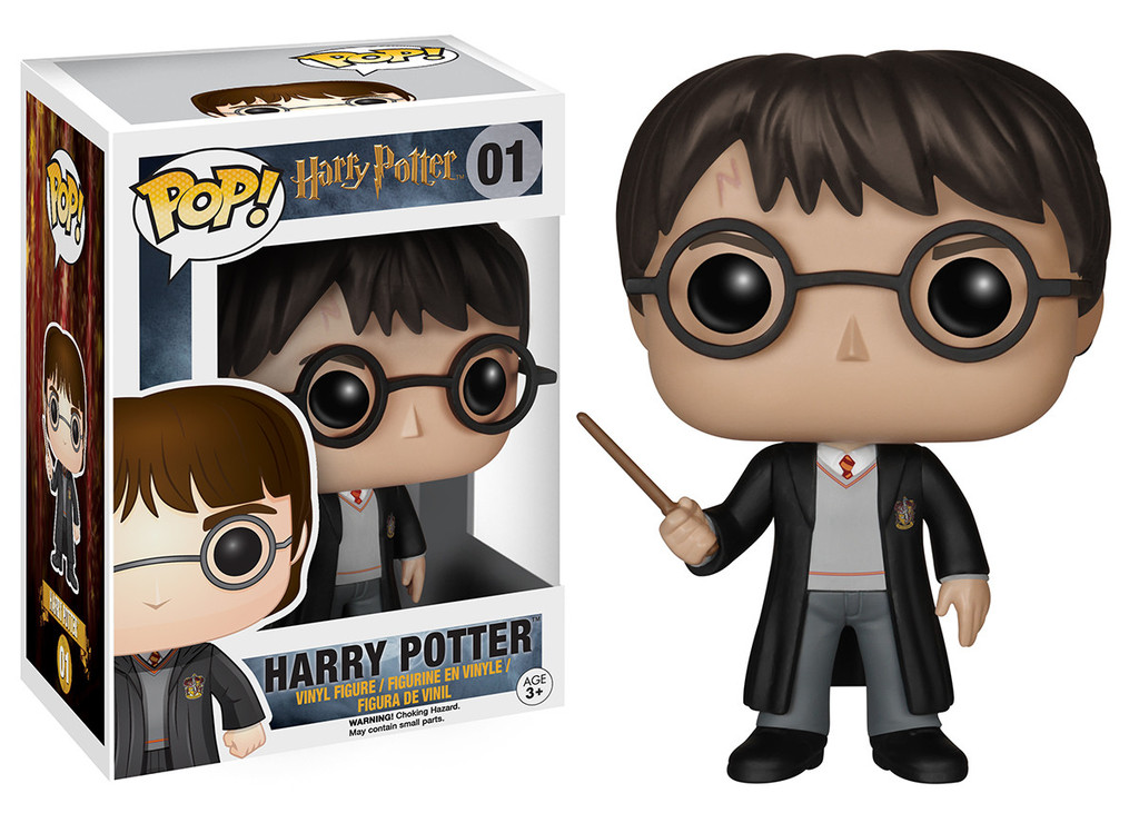 Harry Potter POP! Movies Vinyl Figure Harry Potter 10 cm