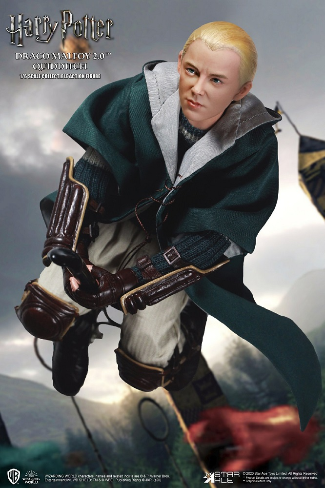 Harry Potter My Favourite Movie Action Figure 1/6 Draco Malfoy Quidditch Ver 2.0. 26 cm