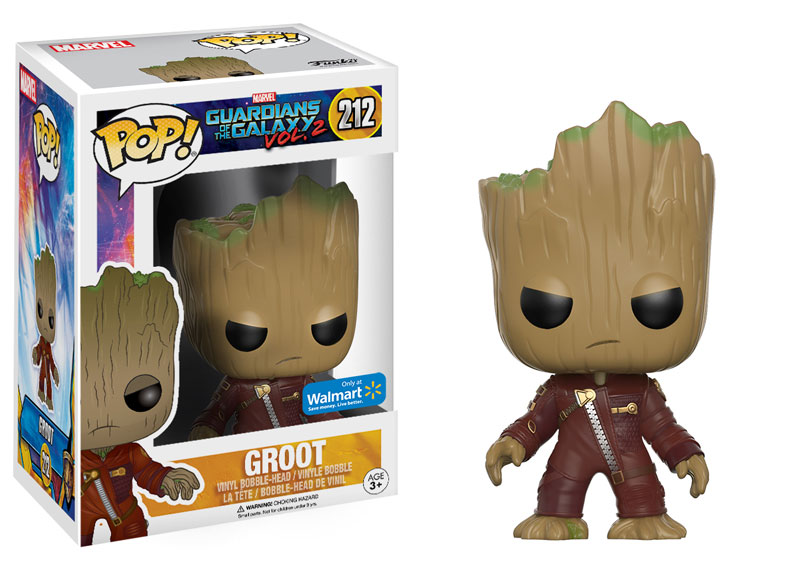 Guardians of the Galaxy Vol. 2 POP! Marvel Vinyl Figure Young Groot in Suit (Angry) 9 cm