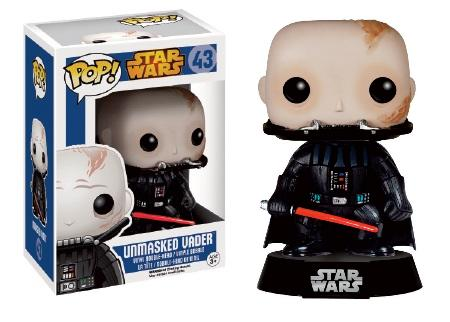 Star Wars POP! Unmasked Darth Vader 9 cm
