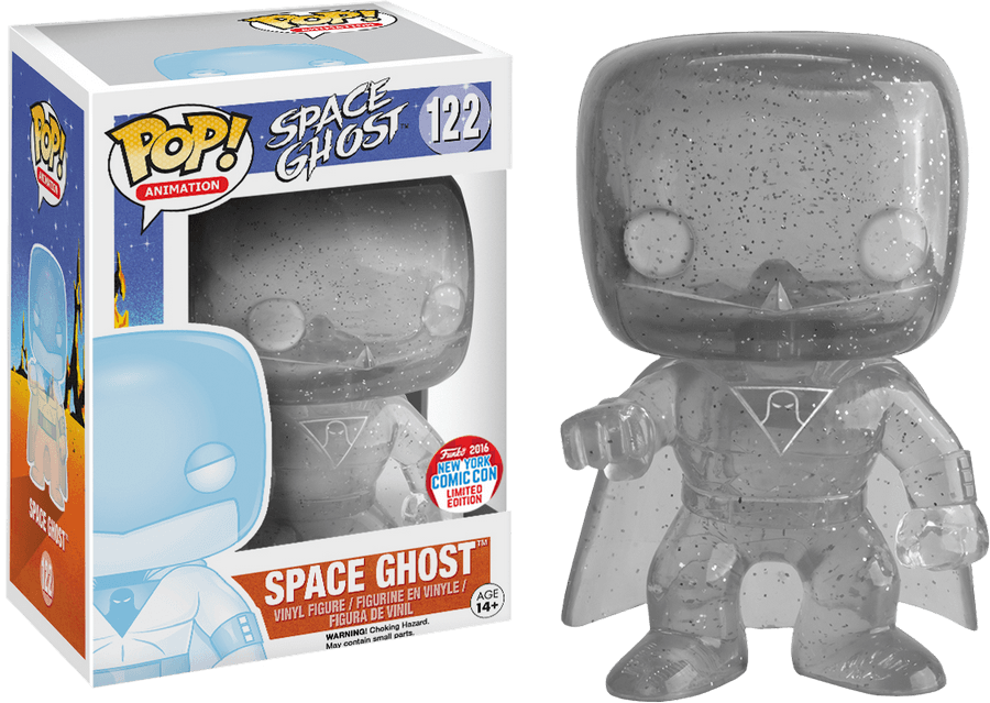 Space Ghost POP! Television Vinyl Figure Space Ghost NYCC 2016 Limited Edition 9 cm (con bollino NYCC 2016)