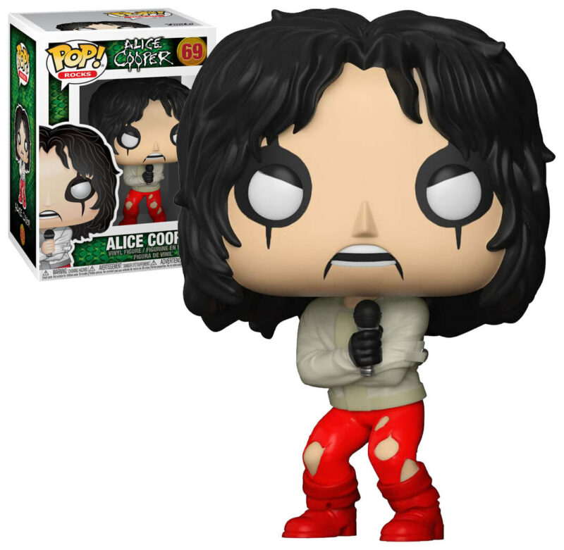 Alice Cooper POP! Rocks Vinyl Figure Alice Cooper Limited Edition