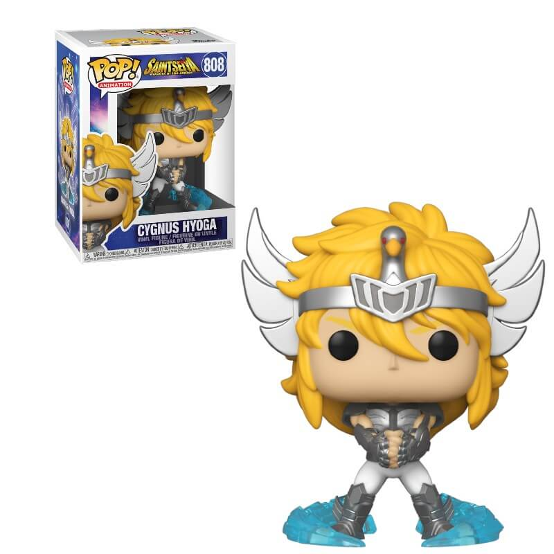Saint Seiya: Knights of the Zodiac POP! Animation Vinyl Figure Cygnus Hyoga 9 cm
