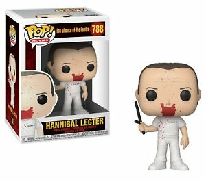 The Silence of The Lambs POP! Movies Vinyl Figure Hannibal Bloody 9 cm