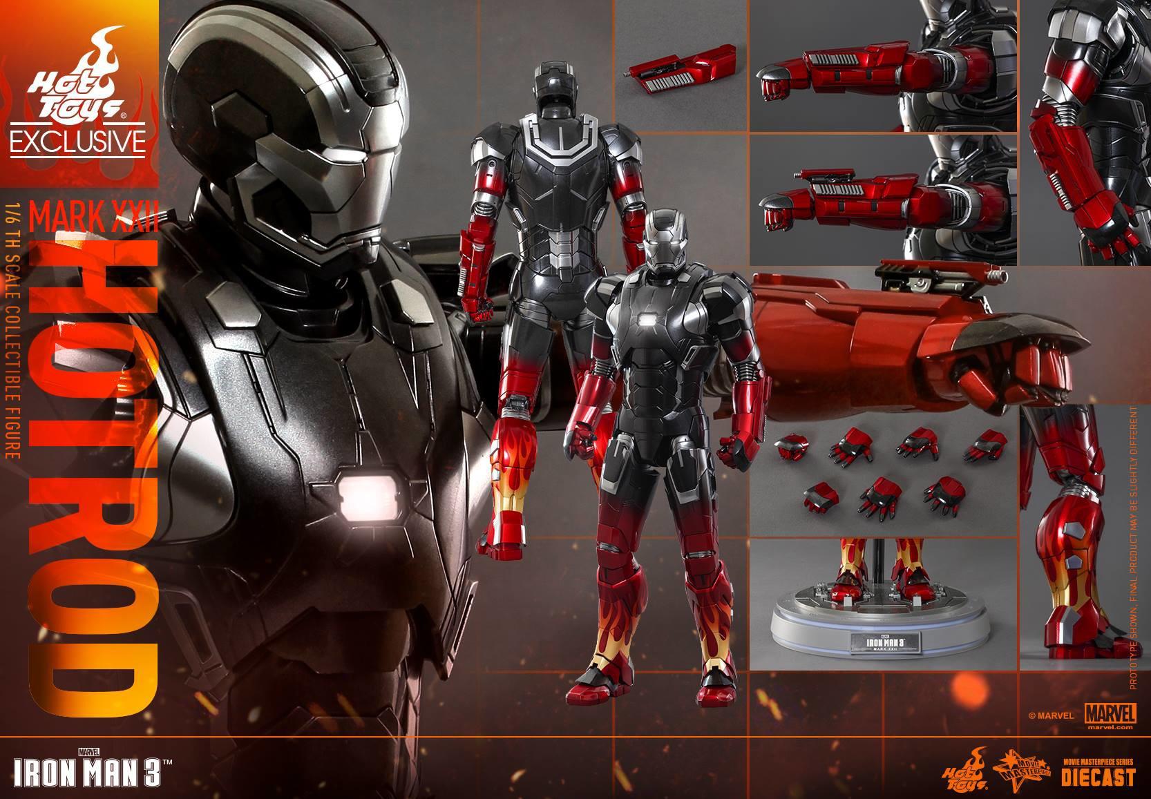 HOT TOYS Iron Man Hot Rod