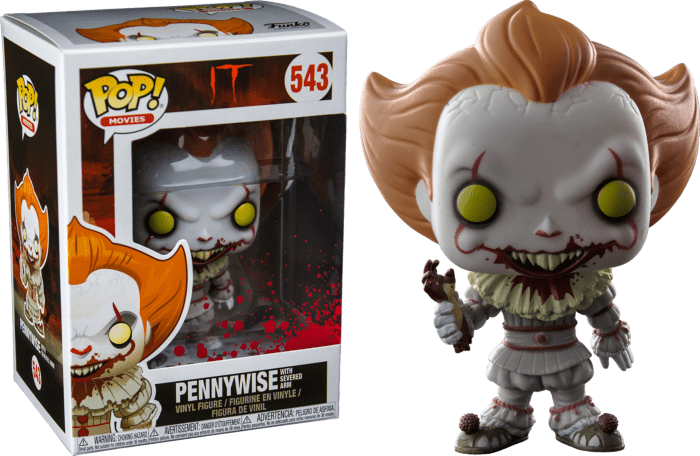 It POP! Movies Vinyl Figure Pennywise with Severed Arm Limited 9 cm