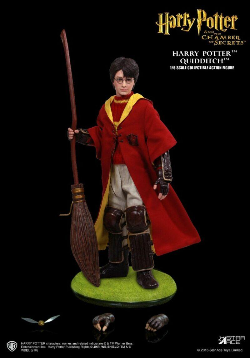 Harry Potter My Favourite Movie Action Figure 1/6 Harry Potter Quidditch Ver. 2.0. 26 cm