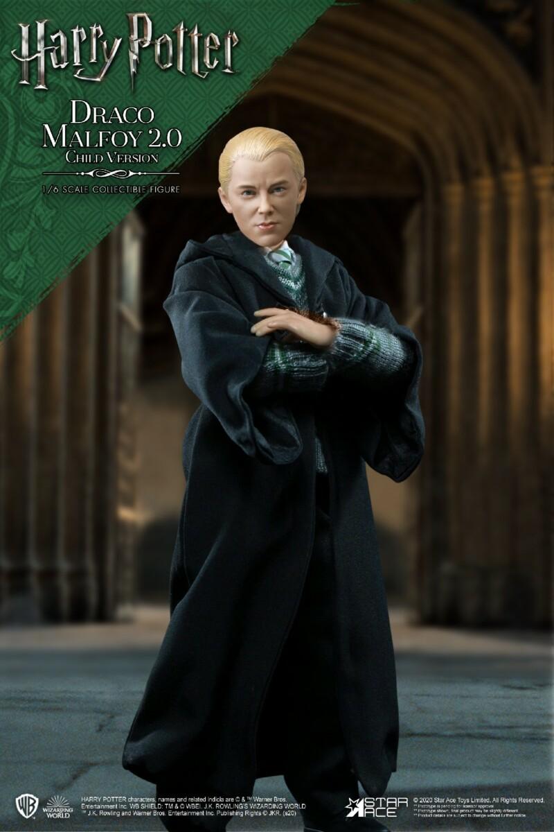 Harry Potter: Draco Malfoy Child School Uniform Version 2.0 1:6 Scale Figure