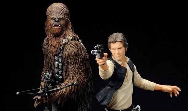 Han e Chewie da Kotobukiya!