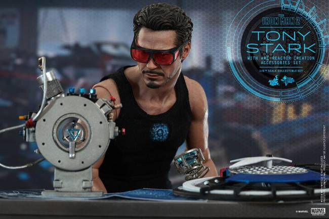 Tony Stark con Arc Reactor!
