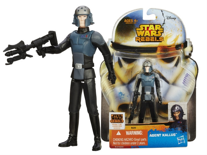 Star Wars Saga Legends Wave 2 Action Figure Agent Kallus 10 cm