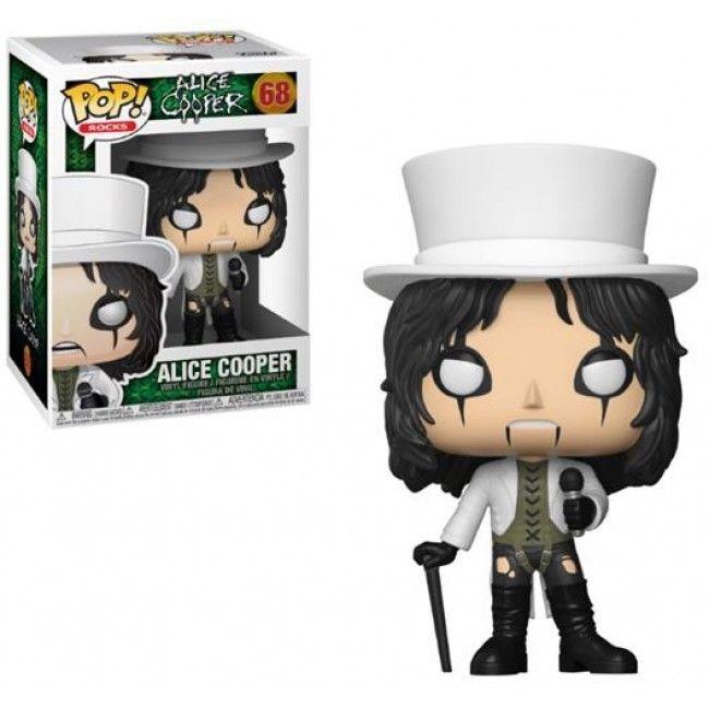 Alice Cooper POP! Rocks Vinyl Figure Alice Cooper 9 cm