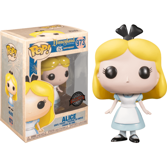 Alice in Wonderland POP! Vinyl Figure Disneyland 65th Anniversary - Alice Limited