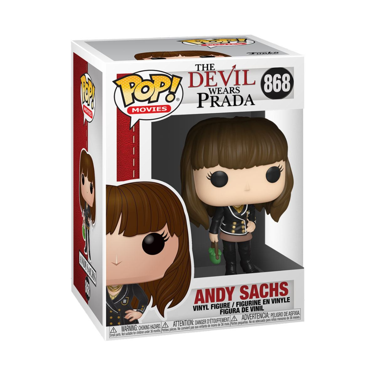 The Devil Wears Prada POP! Movies Vinyl Figure Andy Sachs 9 cm