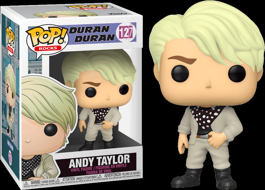 Duran Duran POP! Rocks Vinyl Figure Andy Taylor 9 cm