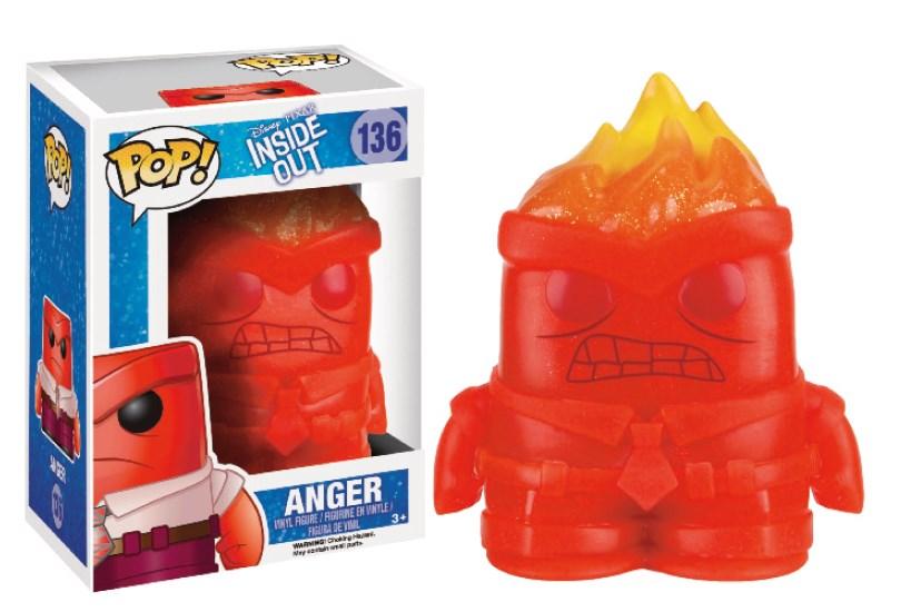 Inside Out POP! Vinyl Figure Anger Crystal 7 cm