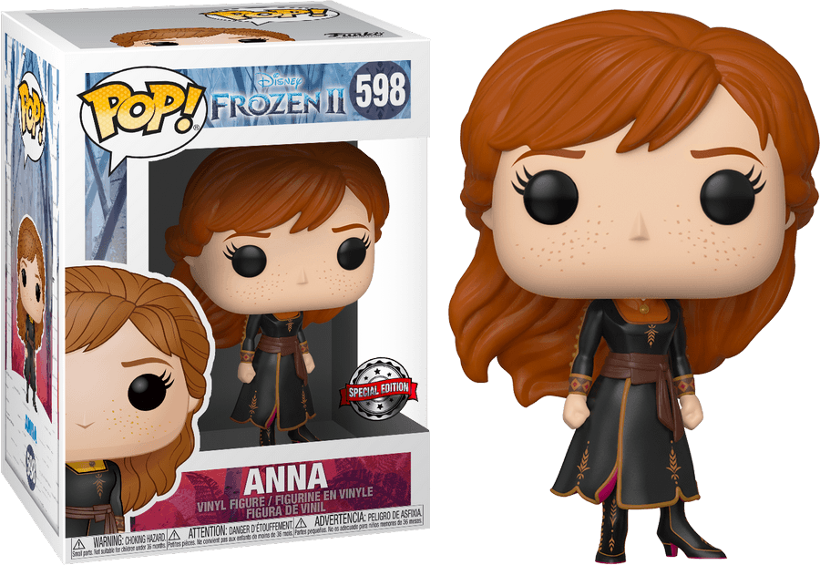 Frozen 2 POP! Disney Vinyl Figure Anna Exclusive Edition 9 cm