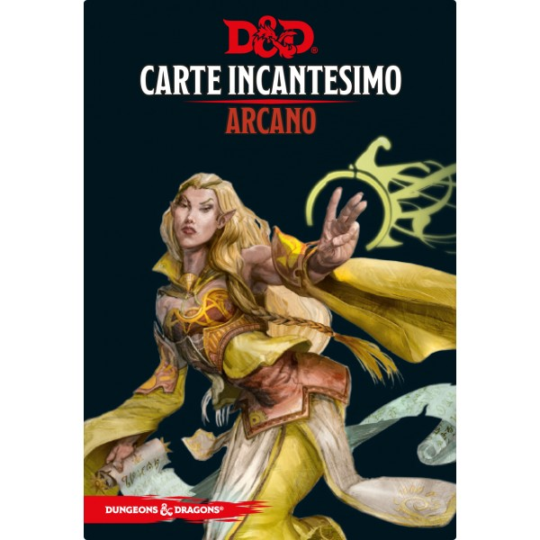 Dungeons & Dragons 5a Edizione - Carte Incantesimo - Arcano