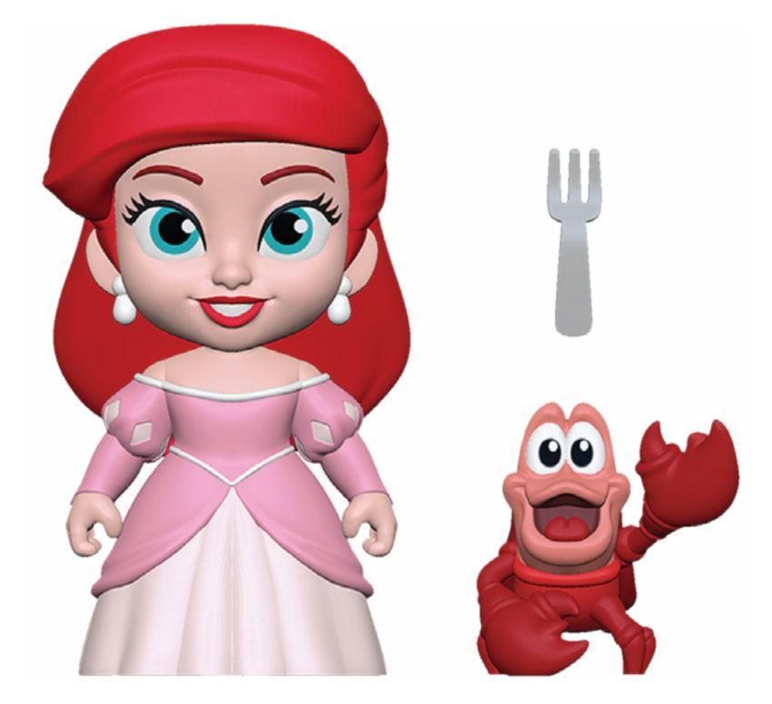 The Little Mermaid 5-Star Action Figure Ariel Princess 8 cm
