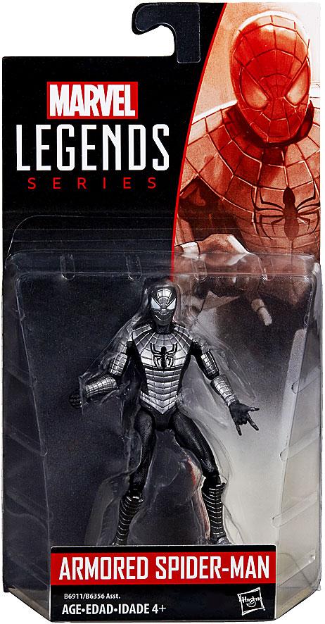 Marvel Legends 2016 Wave 2 Armored Spider Man Action Figure 10 cm
