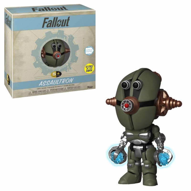 Fallout 5-Star Vinyl Figure Assaultron 8 cm