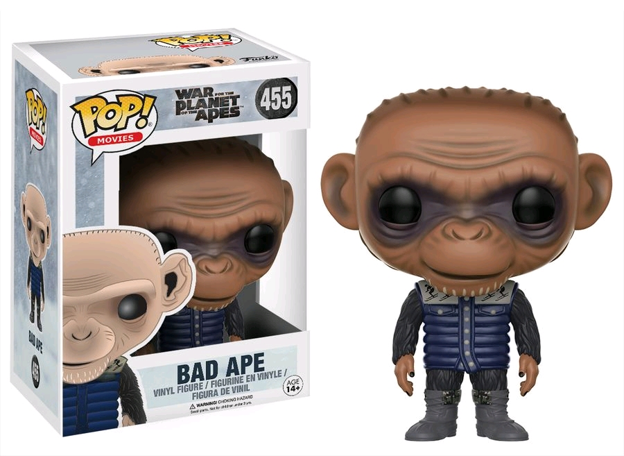 War for the Planet of the Apes POP! Movies Vinyl Figure Bad Ape 9 cm