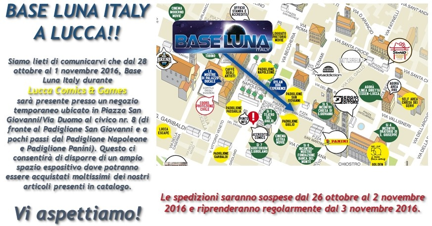 Base Luna Italy a Lucca!