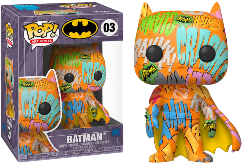 Batman POP! Vinyl Figure Batman Orange Artist Series with Pop Protector Limited Edition