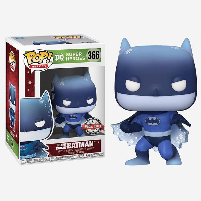 DC Comics POP! Heroes Vinyl Figure DC Holiday: Batman Silent Knight Limited 9 cm