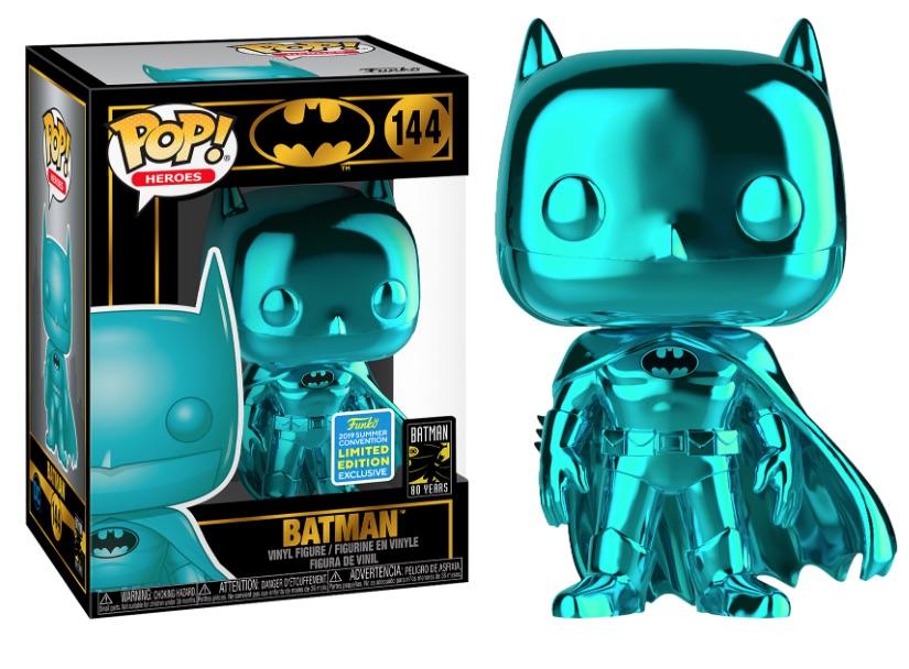 Batman POP! Vinyl Figure Batman Teal Chrome 9 cm (2019 Summer Convention Exclusive)