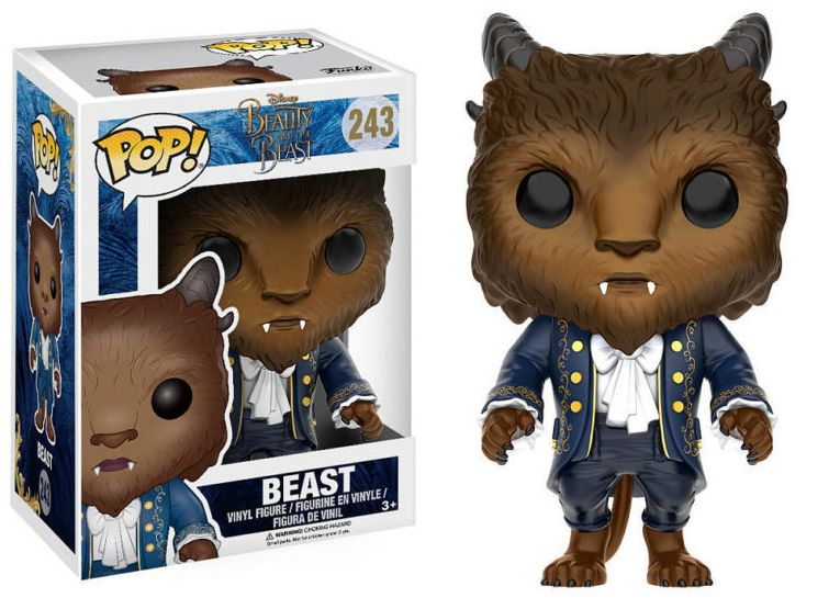 Beauty and the Beast POP! Disney Vinyl Figure Beast 9 cm