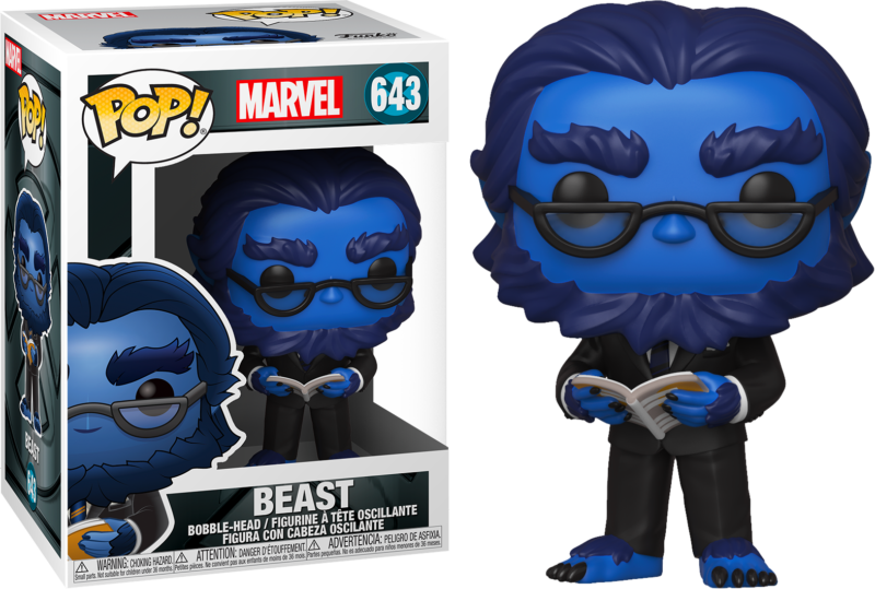 X-Men 20th Anniversary POP! Marvel Vinyl Figure Beast 9 cm