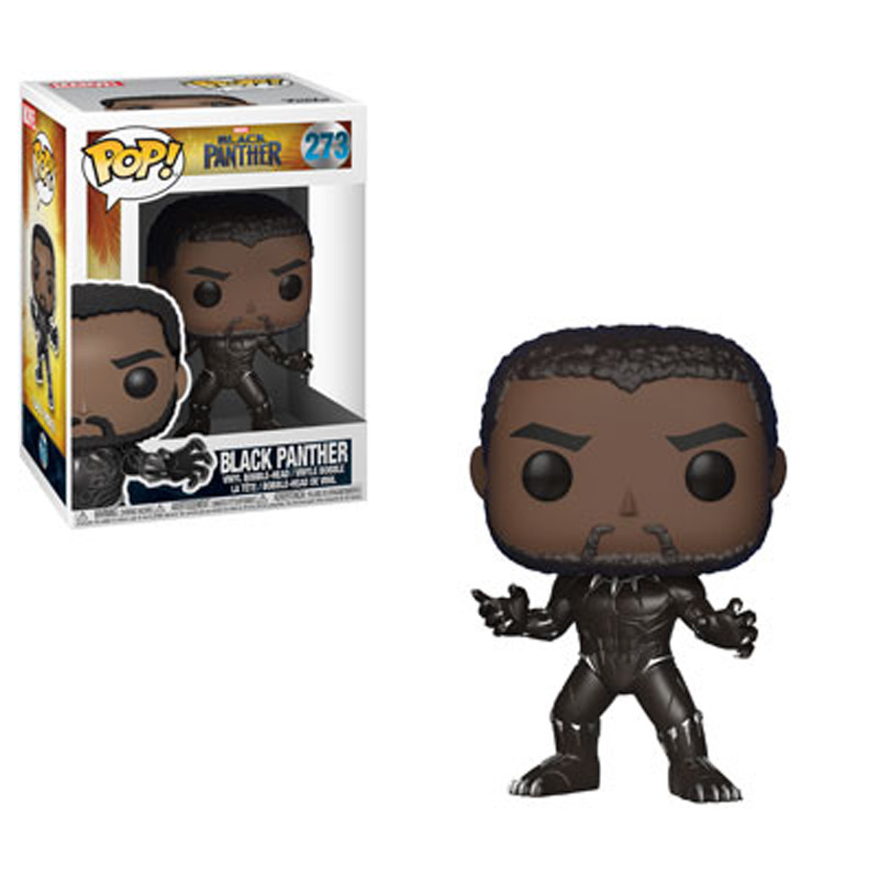 Black Panther Movie POP! Movies Figures Black Panther 9 cm