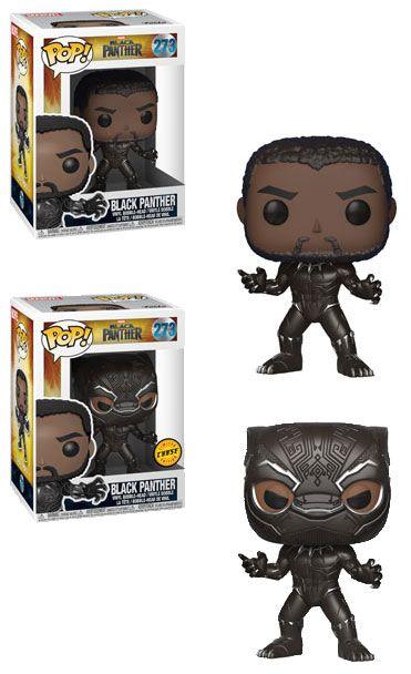 Black Panther Movie POP! Movies Figures Black Panther 9 cm Assortment (2)