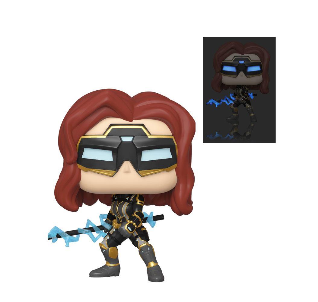 Marvel's Avengers (2020 video game) POP! Marvel Vinyl Figure Black Widow 9 cm Assortment (2)