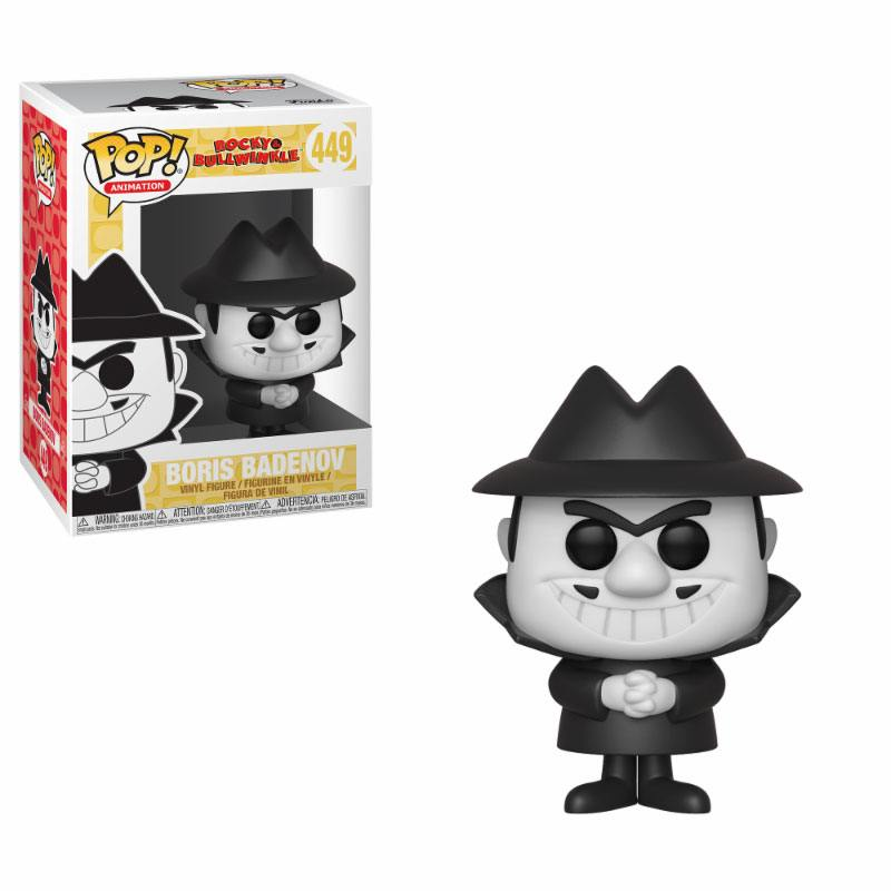 The Adventures of Rocky and Bullwinkle POP! Movies Vinyl Figure Boris 9 cm