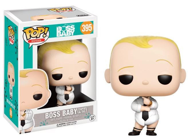 The Boss Baby POP! Movies Vinyl Figure Boss Baby Diaper & Tie 9 cm